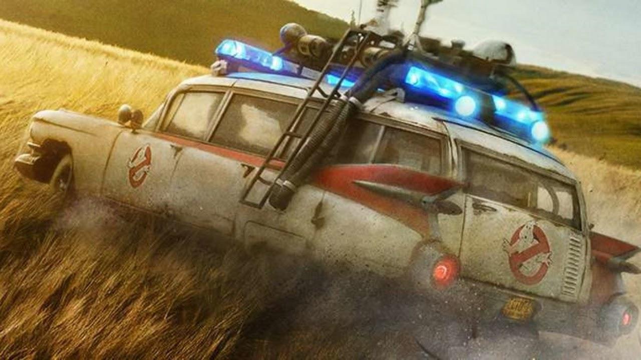 """Ecto-1 recebe atualização incrível em nova foto inédita de """"Os Caça Fantasmas: Vida após a morte"""""""
