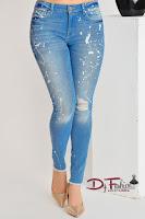 Jeans White Spots