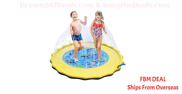 80%  off Splash Pad, Sprinkler