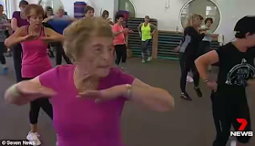 This 94 year old Australian woman works out ten times a week