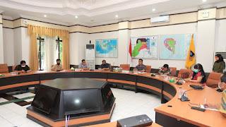 Rapat Persiapan Pembatasan Moda Transportasi Laut dan Darat di Ruang Rapat Walikota Tarakan - Tarakan Info