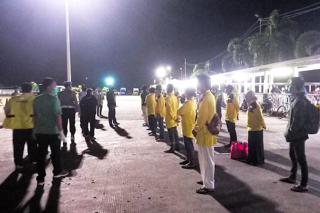 Terkendala kesehatan, 40 PMI asal Lombok dipulangkan