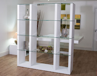 multi purposes modular shelving unit mixed with wooden flooring and modern table lamp ideas