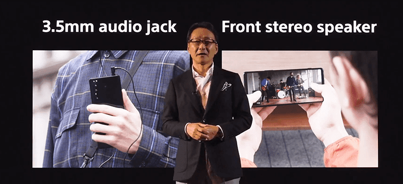 3.5mm audio jack is back with front stereo speakers as well