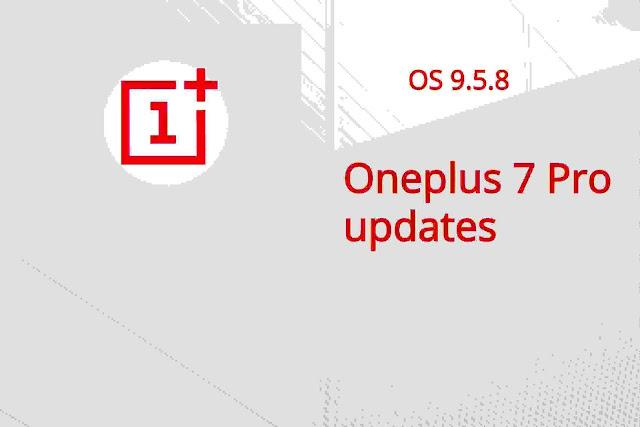 onePlus 7 Pro OxygenOS 9.5.8
