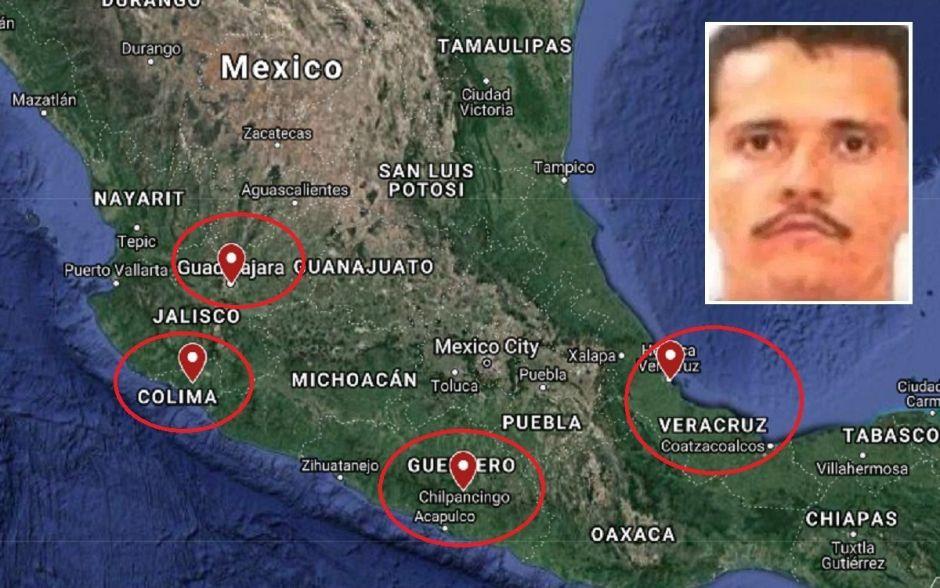 """Nemesio Oseguera """"El Mencho"""" y el CJNG se extienden por México como cáncer, están en 75% del territorio nacional"""