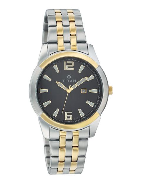 Đồng hồ đeo tay nam dây sắt Titan đáng mua nhất 2016