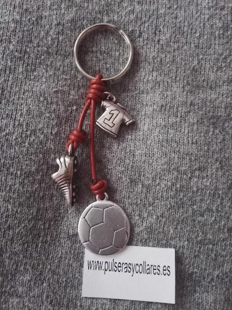 llavero futbol, regalo futbol