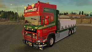 Scania R560 Donslund + trailer