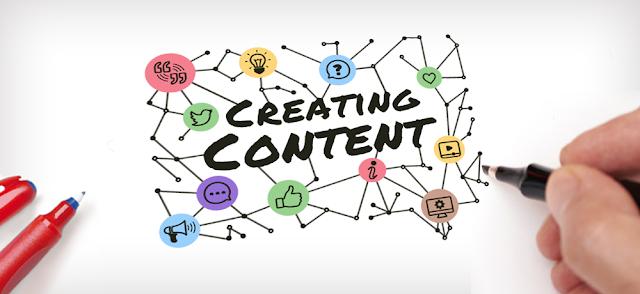 إنشاء المحتوى