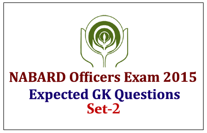 Expected GK Questions