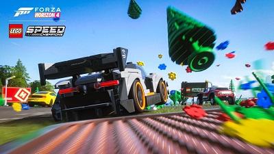 Forza Horizon 4: Lego Speed Champions Gameplay