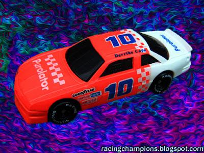 Derrike Cope #10 Purolator Racing Champions 1/64 NASCAR diecast blog Bob Whitcomb Daytona 500