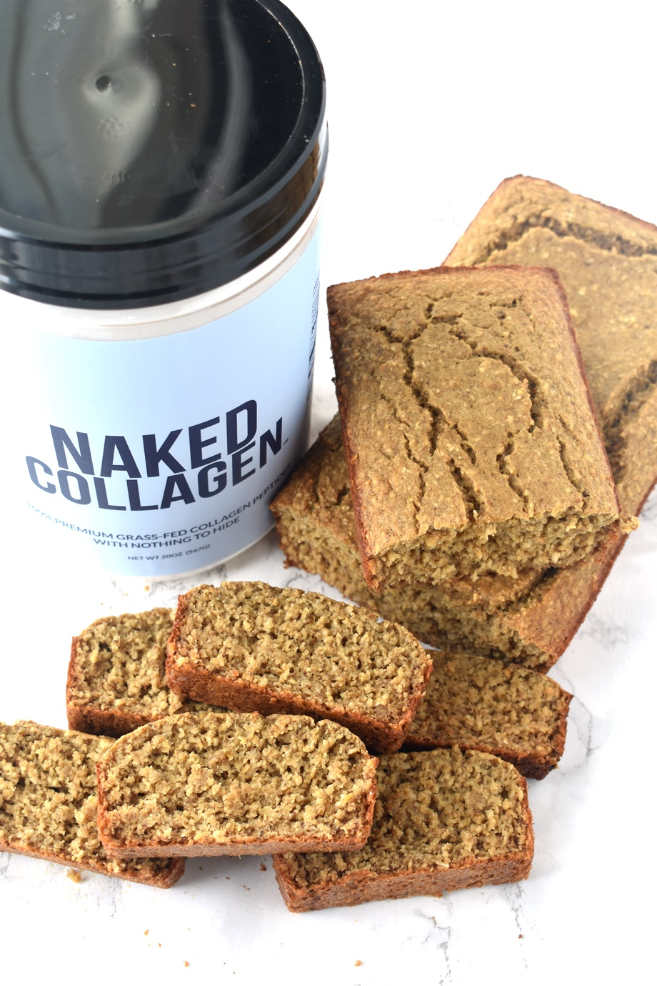 Naked Nutrition Collagen Banana Bread