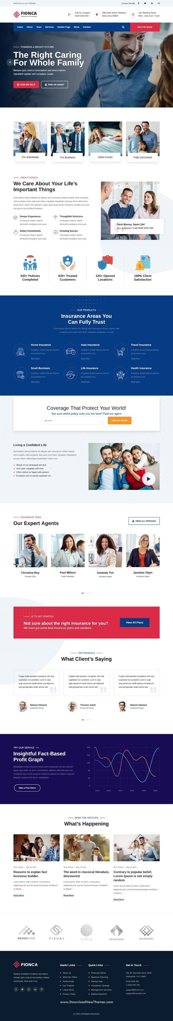 Business & Finance HubSpot Theme