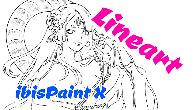 How to Make Clean Lineart in ibisPaint X