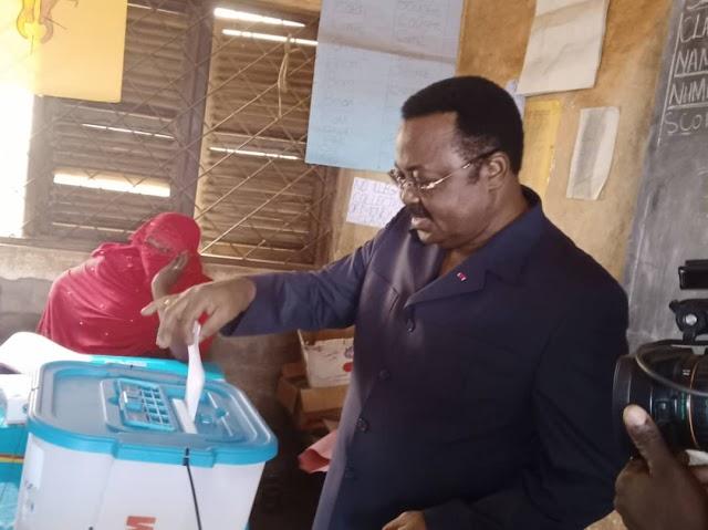 """Only the Ballot box can Guarantee Change""- Mbayu Felix"