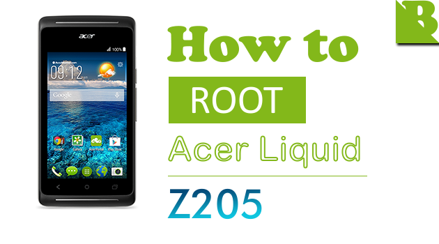 How to Root Acer Liquid Z205 Without PC