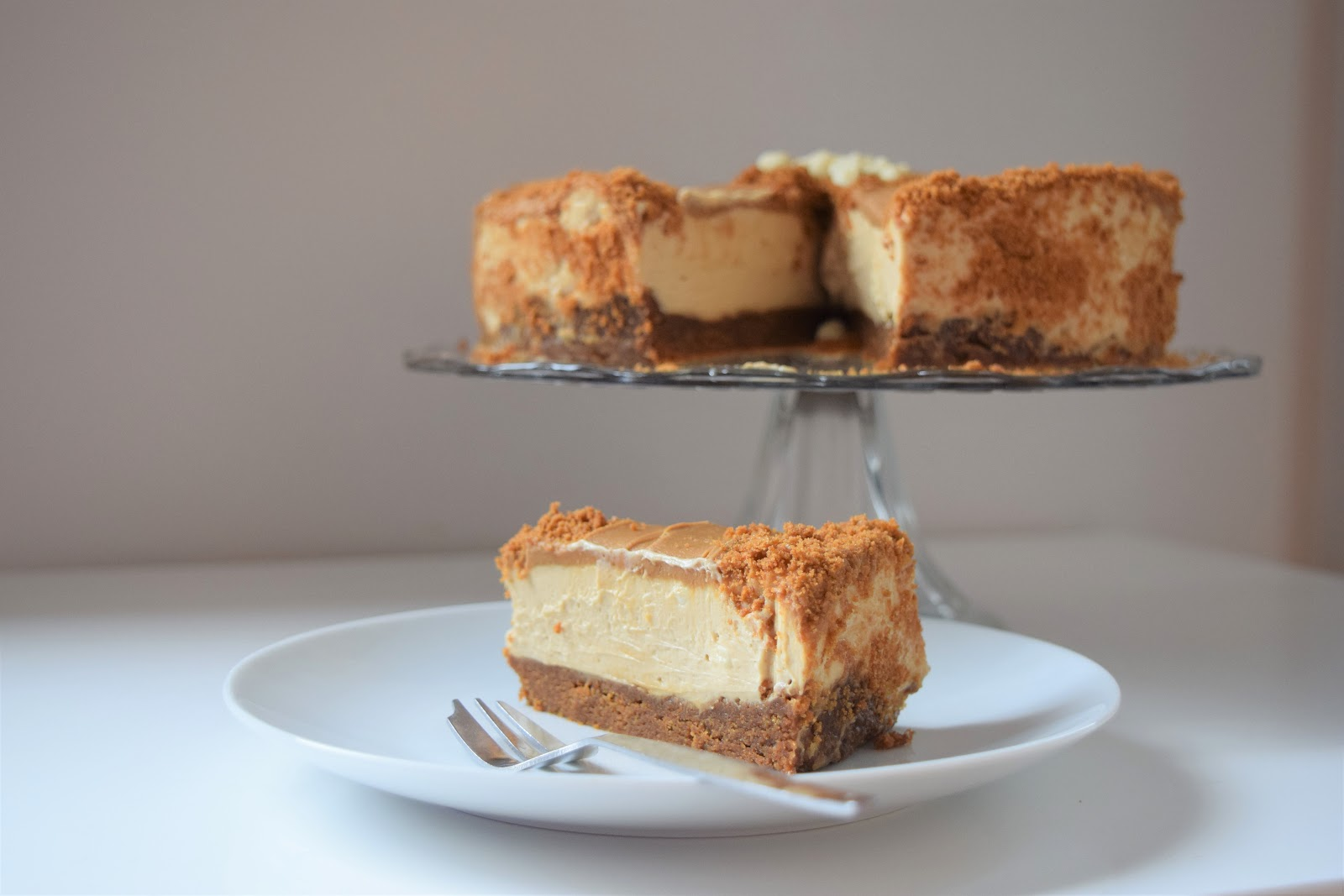 Lotus Biscoff Cheesecake A Wee Bit Of Cake