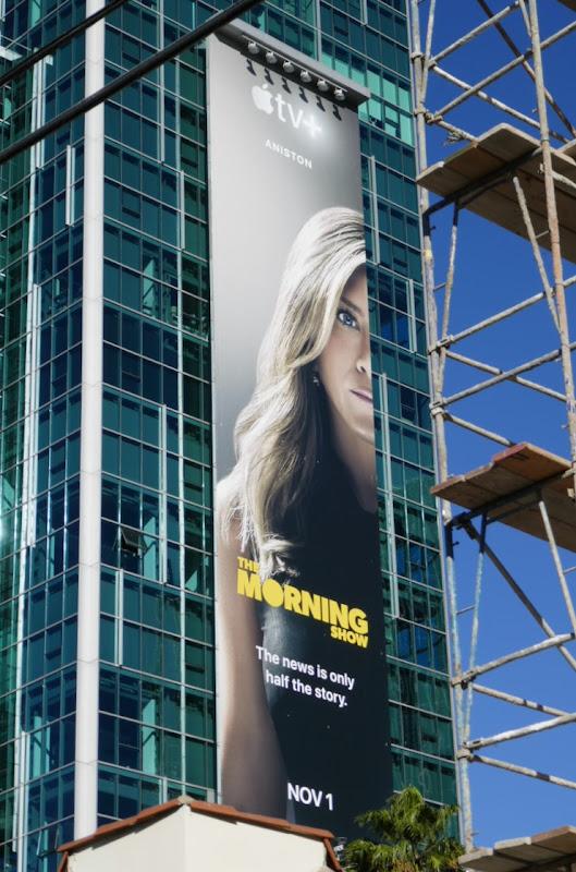 Jennifer Aniston Morning Show Apple TV billboard