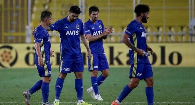 Fenerbahçe'de son maçta ilkler yaşandı