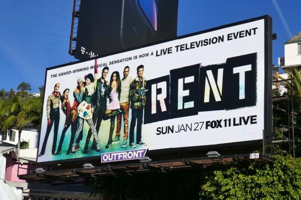 Rent Live billboard