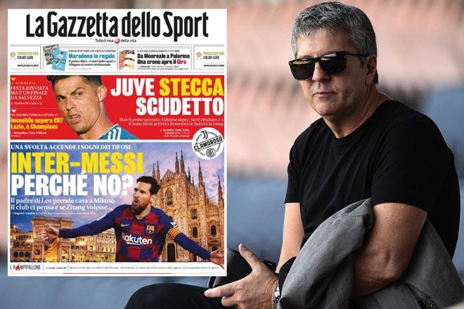 Tin đồn Messi đến Serie A đấu Ronaldo: Sếp Inter Milan làm rõ thực hư