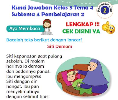 Kunci Jawaban Kelas 3 Tema 4 Subtema 4 Pembelajaran 2 www.simplenews.me