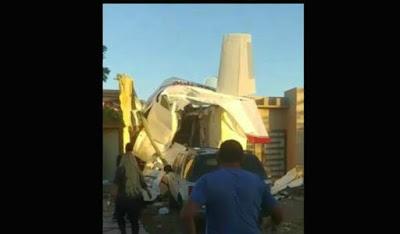Revelan qué podría haber causado la caída de avioneta en Culiacán