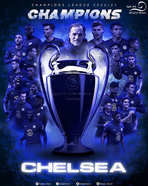 تشيلسي بطلا لدورى أبطال أوروبا 2021