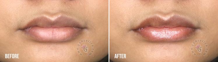 Review Rivera Moisture Glow Lip Gloss 02 Sparkle Pink