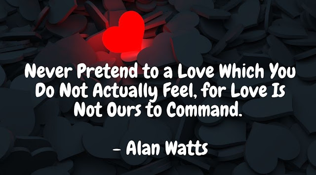 alan watts quotes on love