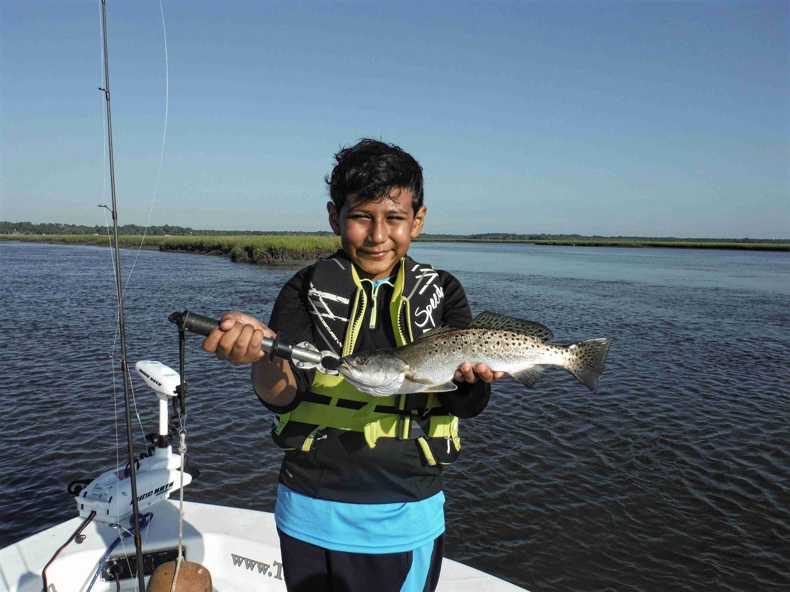 Amelia island fishing reports young anglers net amelia for Amelia island fishing