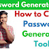 *Free* Create Password Generator Tool In Google Blogger | Password Generator Tool in Google Blogger |