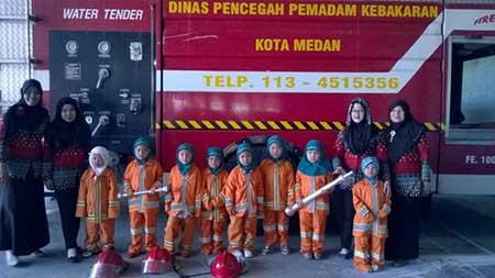 Alamat & Nomor Telepon Dinas Pemadaman Kebakaran Kota Medan