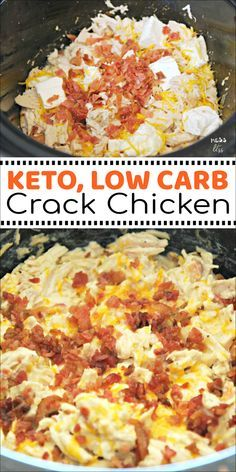 KETO CRACK CHICKEN IN THE CROCK POT #recipes #dinnerrecipes #dishesrecipes #dinnerdishes #dinnerdishesrecipes #food #foodporn #healthy #yummy #instafood #foodie #delicious #dinner #breakfast #dessert #lunch #vegan #cake #eatclean #homemade #diet #healthyfood #cleaneating #foodstagram