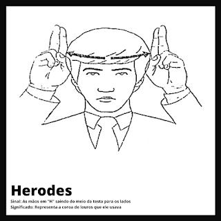 Herodes em Libras
