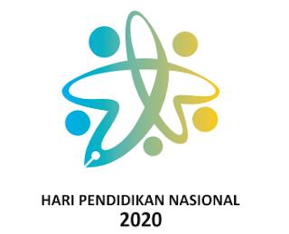 Logo peringatan Hari Pendidikan Nasional (Hardiknas) Tahun 2020