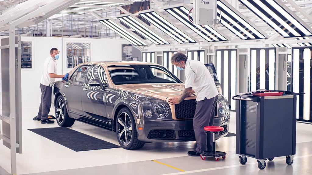 Chiếc Bentley Mulsanne cuối cùng xuất xưởng