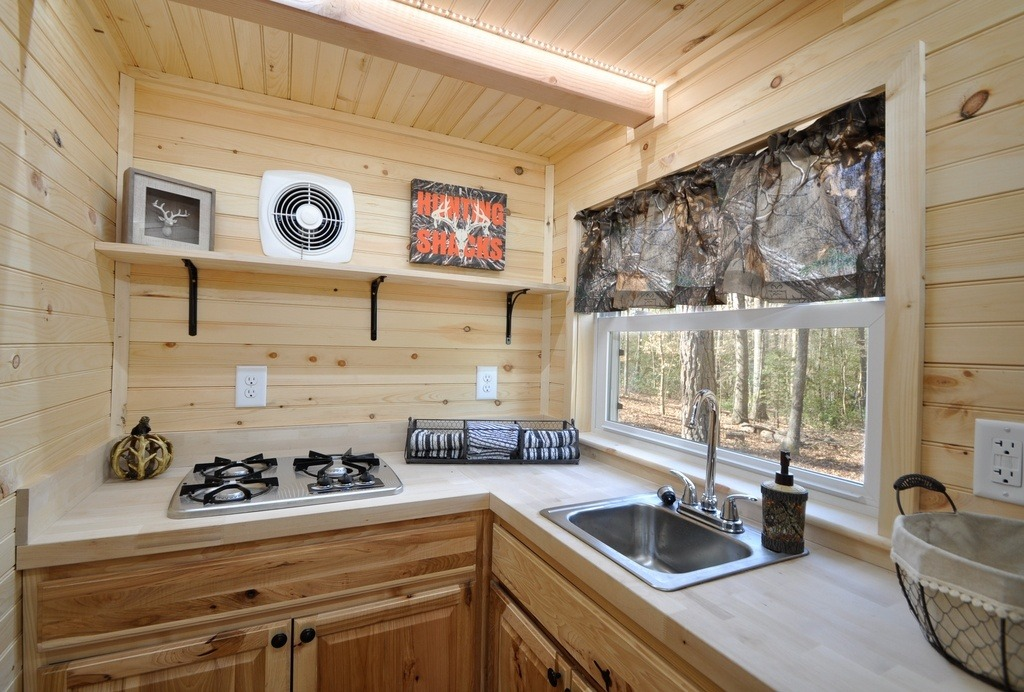 The Timberland Tiny House 195 Sq Ft TINY HOUSE TOWN
