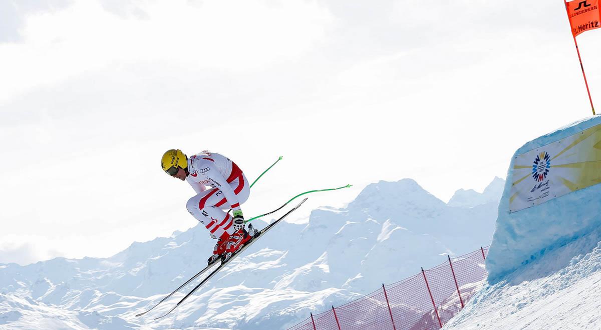 Lyžovanie St Moritz