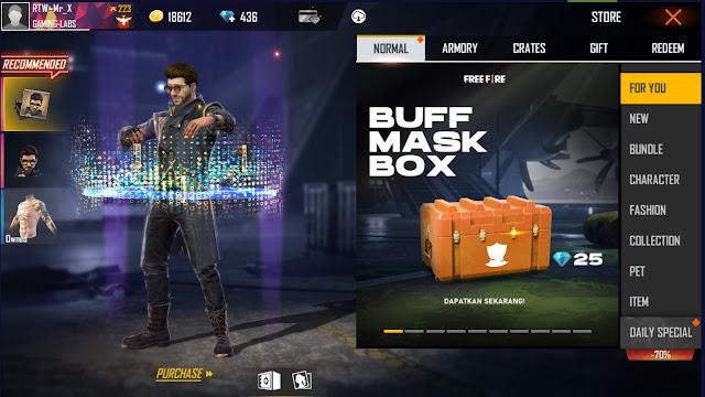 Cara Mendapatkan Masker Elite Pass Season 4 Free Fire