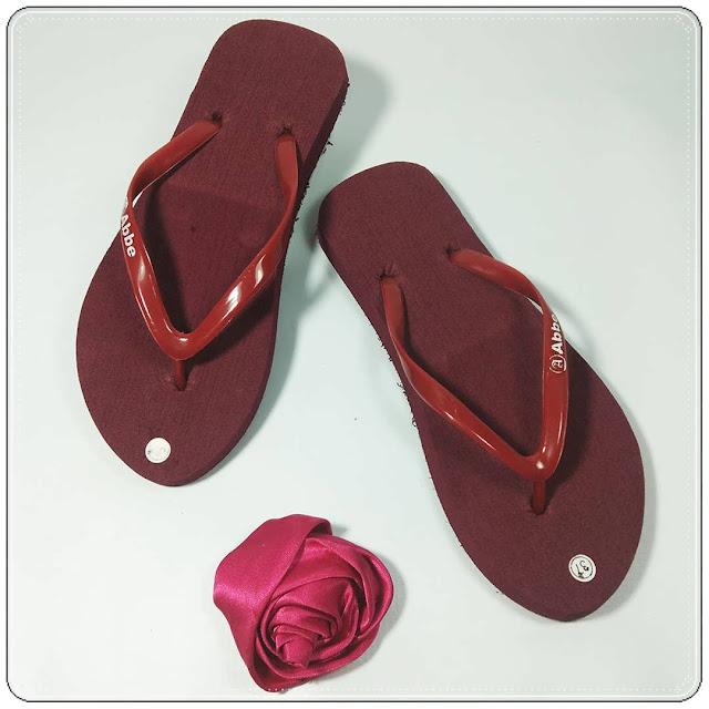 grosirsandalmurah.org -Sandal Wanita- AB Polos Warna Cewek