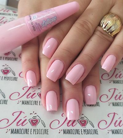 unhas decoradas rosa 6