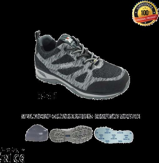 Sepatu Kets Safety Eurostat Zebra