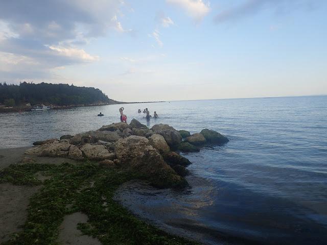Rawda / Nesebyr - plaża nad Morzem Czarnym