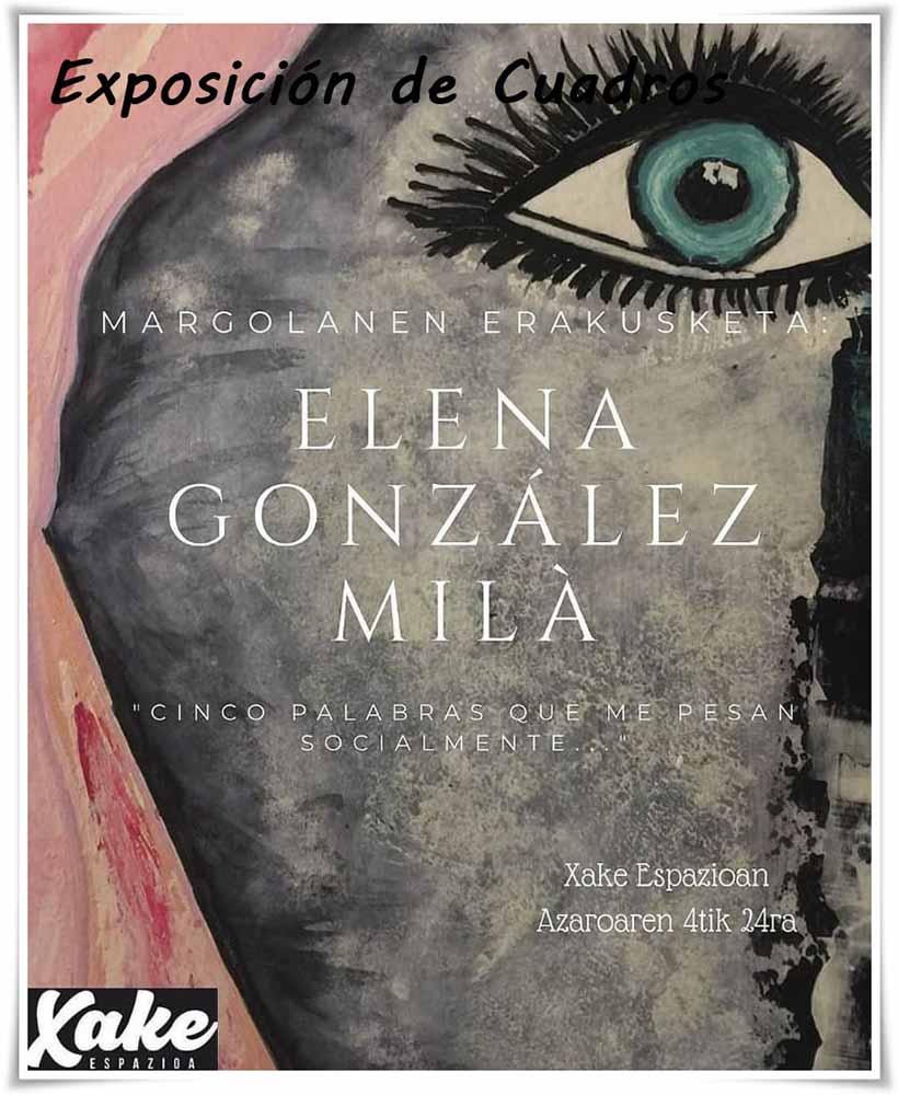 Exposición de cuadros en Bilbao la Vieja