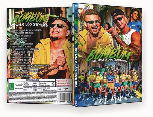 DVD – FUNK COPA DO BUM BUM – ISO