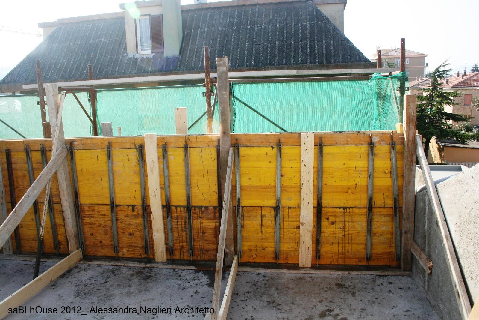 saBI hOuse: Ristrutturazione del terrazzo: il parapetto ed ...