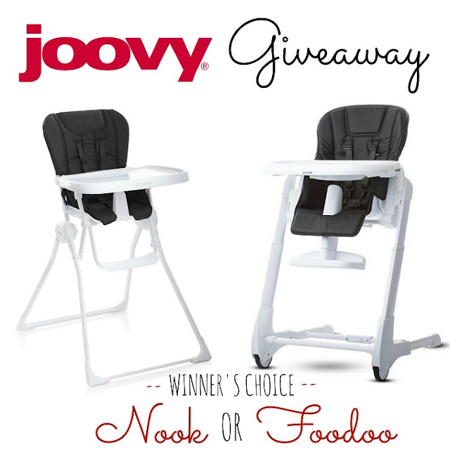 Joovy Nook High Chair Giveaway